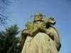 Svatý Jene Nepomucký, zástupce české země, schlédni na nás, na svůj národ, pamatuj na své plémě, vypros nám u Boha milost, bychom se mu líbili, podle víry živi byli, jak jsme při křtu slíbili.